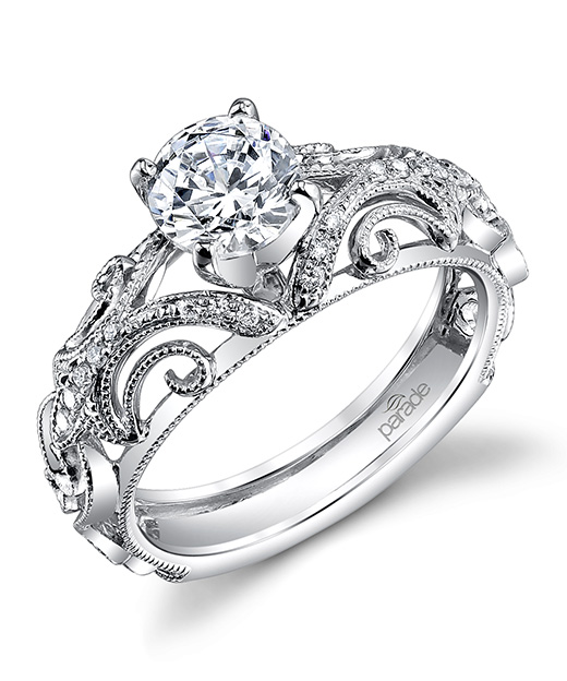 Hera Bridal R3072 Parade Design Designer Engagement Rings