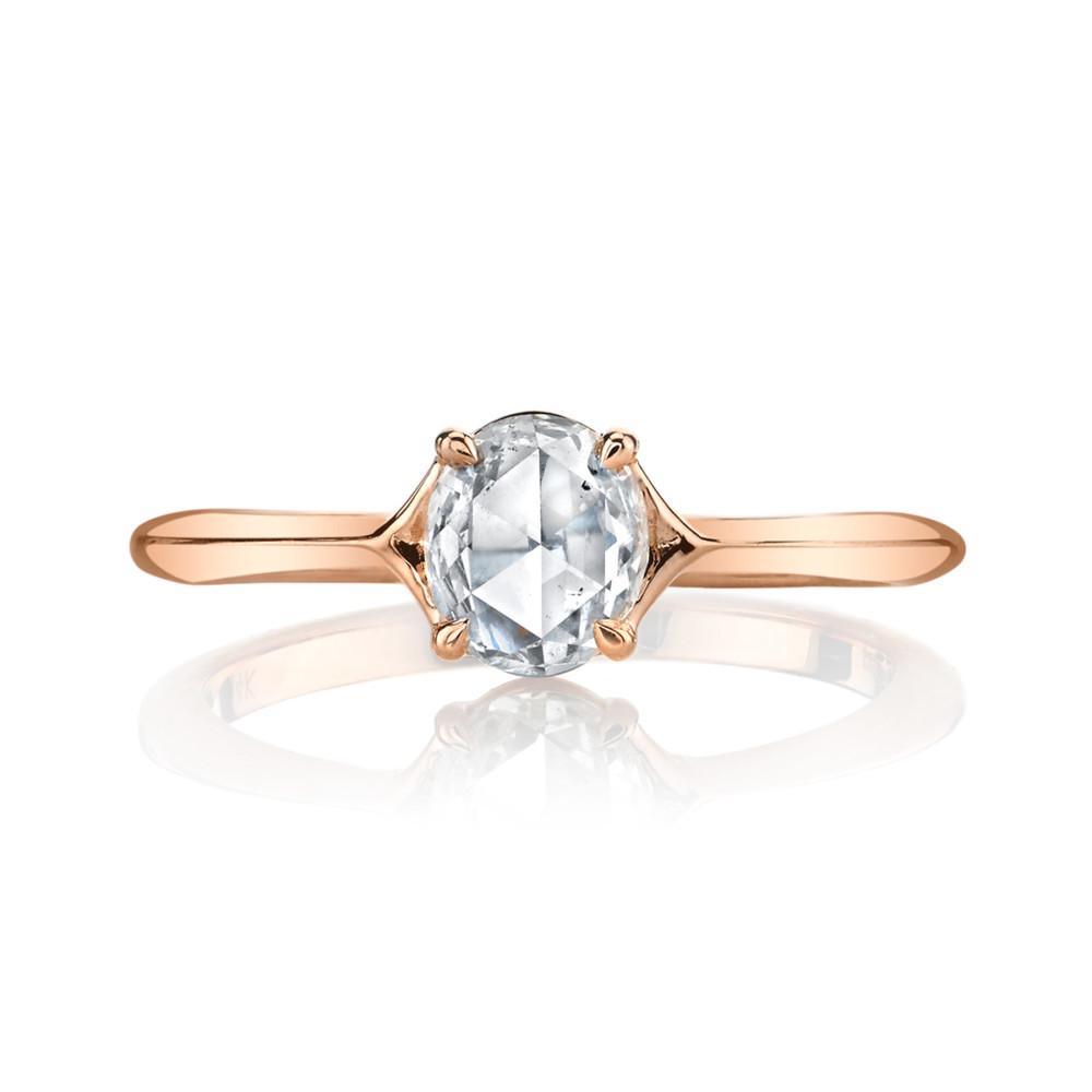 Designer diamond engagement ring by Parade Design.