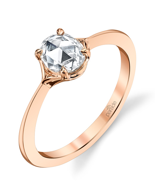 Designer diamond engagement ring by Parade Design.