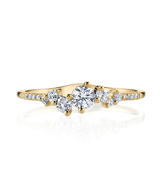 Designer diamond fashion ring by Parade Design.